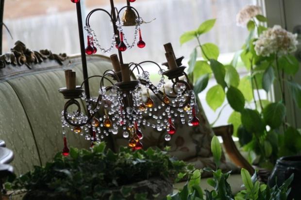 Venetian chandelier in The Orangery